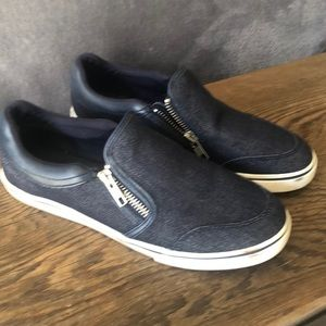Ralph Lauren slip on jean tennis. 6.5